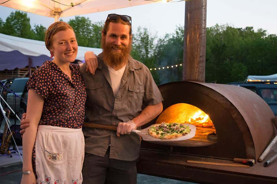 Rusty Oven owners Melanie and Dominic